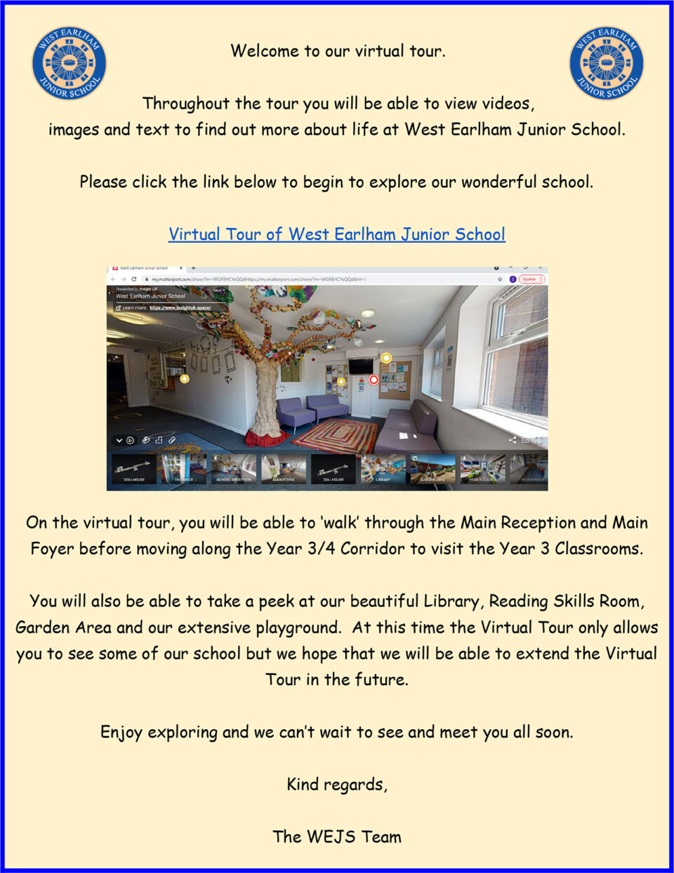 Virtual Tour Link